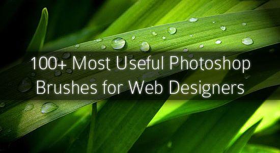 100 + Más Útiles Pinceles Photoshop gratis para Diseñadores Web - DJDESIGNERLAB