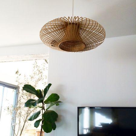 Love it lampe habitat via lejardindeclaire suspension 39 birmane 39 69 - Suspension hula habitat ...