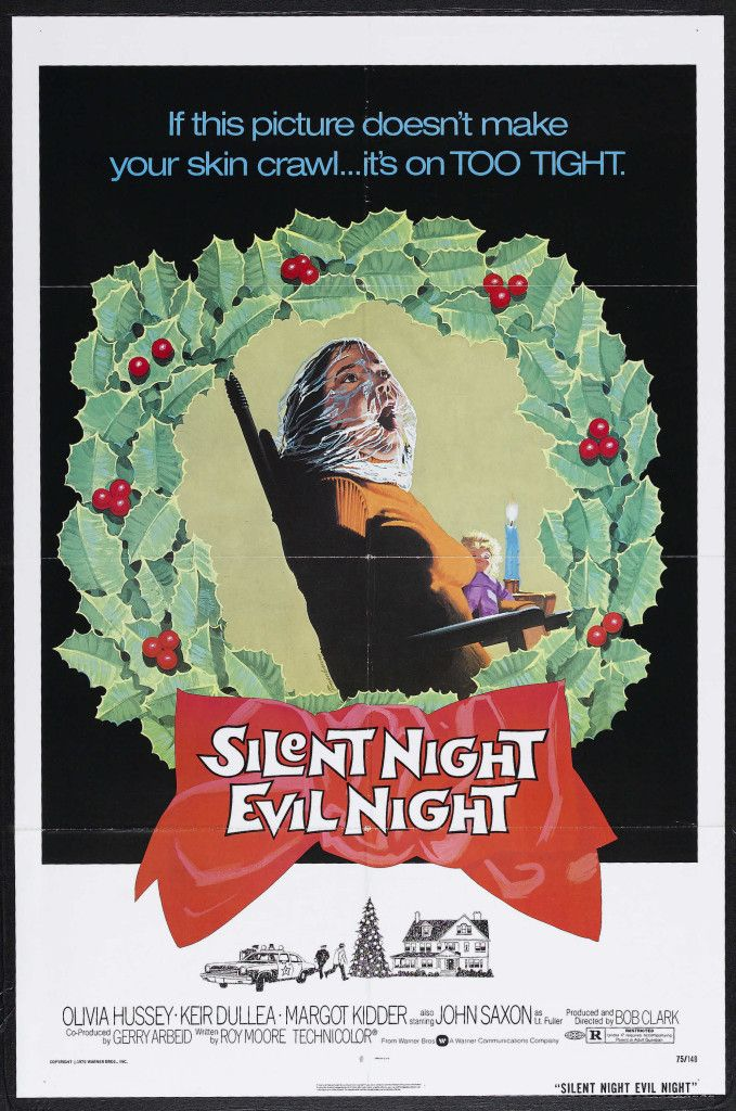 'If this picture doesn't make your skin crawl… it's on TOO TIGHT.' Black Christmas – also released as Silent Night, Evil Night – is a 1974 Canadian horror …