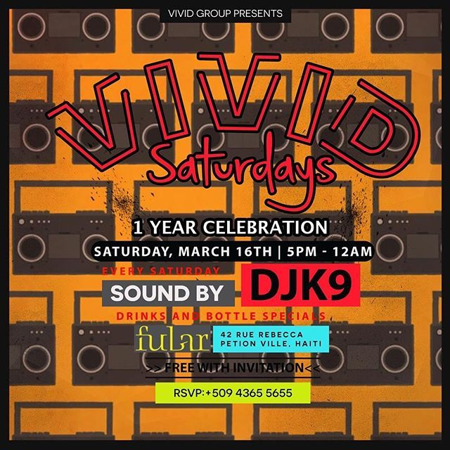 Dancing With Haitians At La Fete De >> Every Saturday With Vivid Haiti And This Week We Have Djk9 At