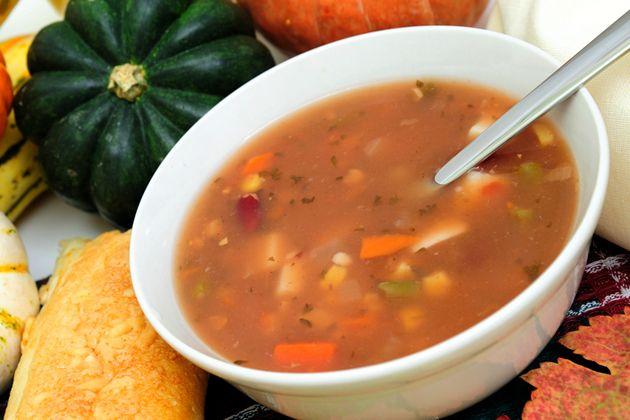 Mexican Soup - Approx. 400 calories per serving #UWeightLoss