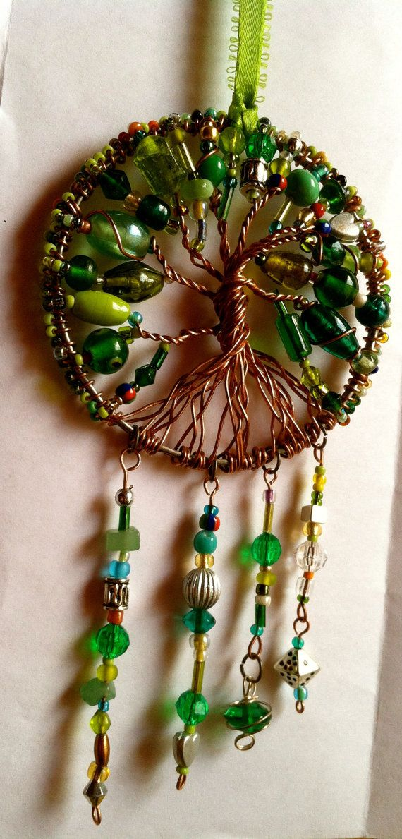 Verde Atrapa Sueños / Green Dreamcatcher by KissMyCalaverass
