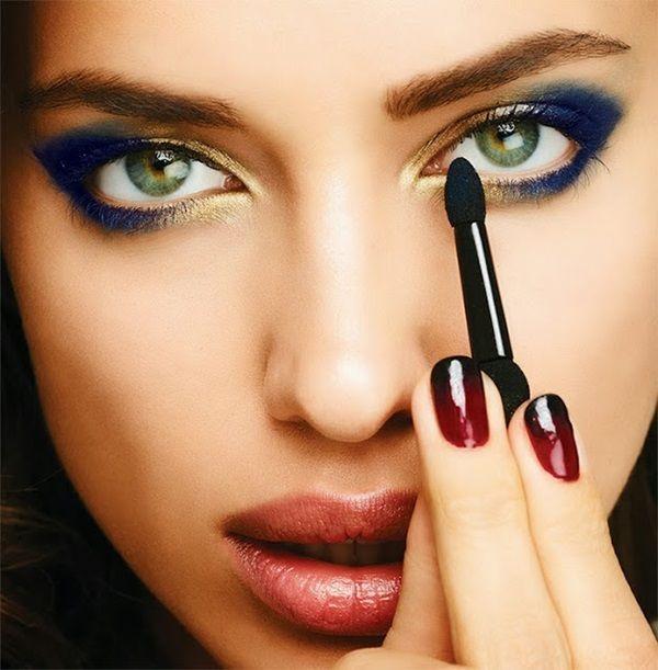 модный макияж косметикой avon