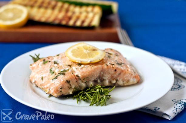 Salmon, when cooked simply, is SO delicious!