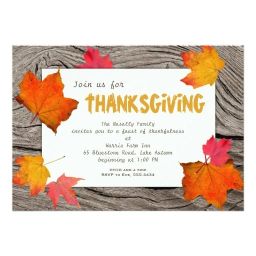 Best Thanksgiving Baby Shower Invitations Images On