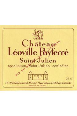 Château Léoville Poyferré grand cru classé 2013 | Vin rouge | 12380821 | SAQ.com