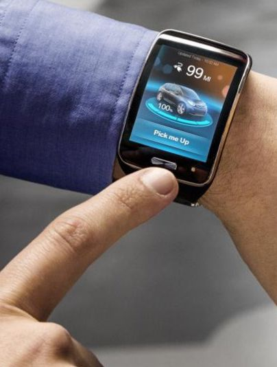 BMW is developing a remote-control valet parking system for cars that can be operated by a smartwatch.