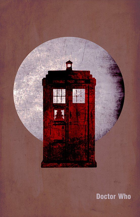 Doctor Who (2005–) ~ Minimal TV Series Poster by Daniel Price #amusementphile