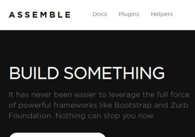 A new article has appeared on our Blog How To Build A Static Blog Using Assemble Oct 31st - http://fusionthemes.com.au/Blog/how-to-build-a-static-blog-using-assemble-oct-31st/ We would love you to visit and check it out if web design interests you.