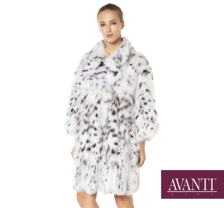 AVANTI FURS - MODEL: 1973-BOZENA NEW CAT LYNX JACKET with Leather Python details #avantifurs #fur #fashion #fox #luxury #musthave #мех #шуба #стиль #норка #зима #красота #мода #topfurexperts