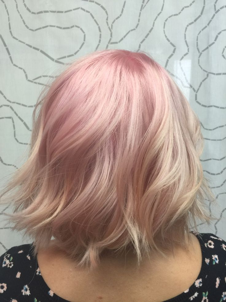 Awe Inspiring 1000 Ideas About Pink Blonde Hair On Pinterest Blonde Hair Hairstyle Inspiration Daily Dogsangcom