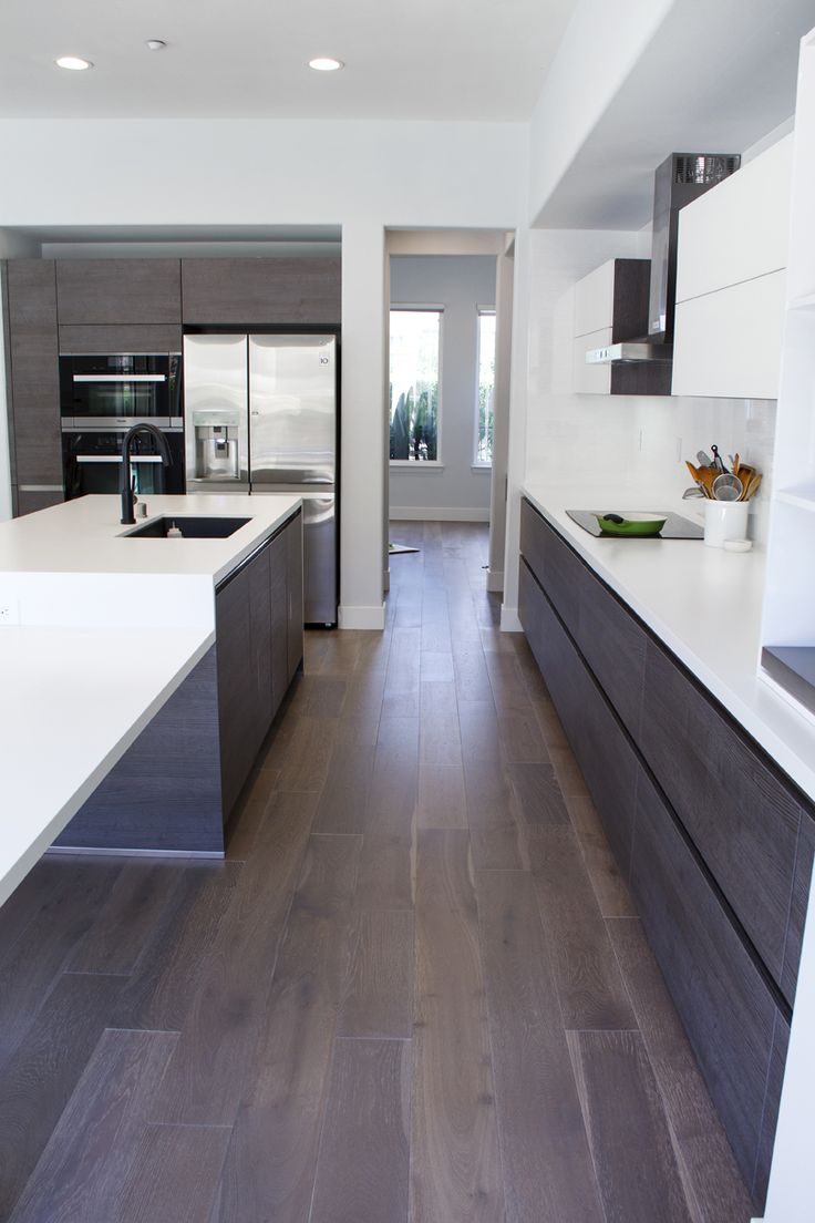 Simi Valley Project | Bauformat | Germany Kitchen Cabinet | Bali 125 Rift  Anthracite Oak |