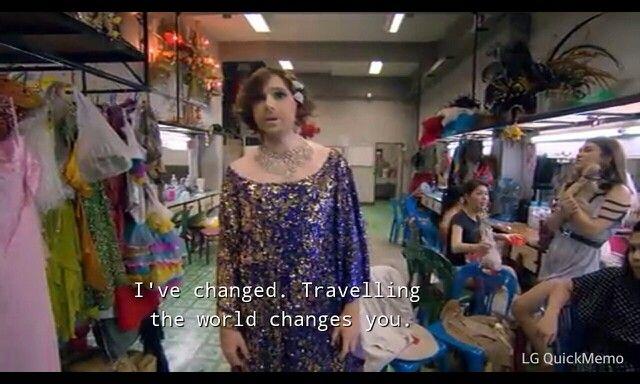 Karl Pilkington, An Idiot Abroad Ladyboys in Bangkok, Thailand season 2, episode 3 Swim With Dolphins