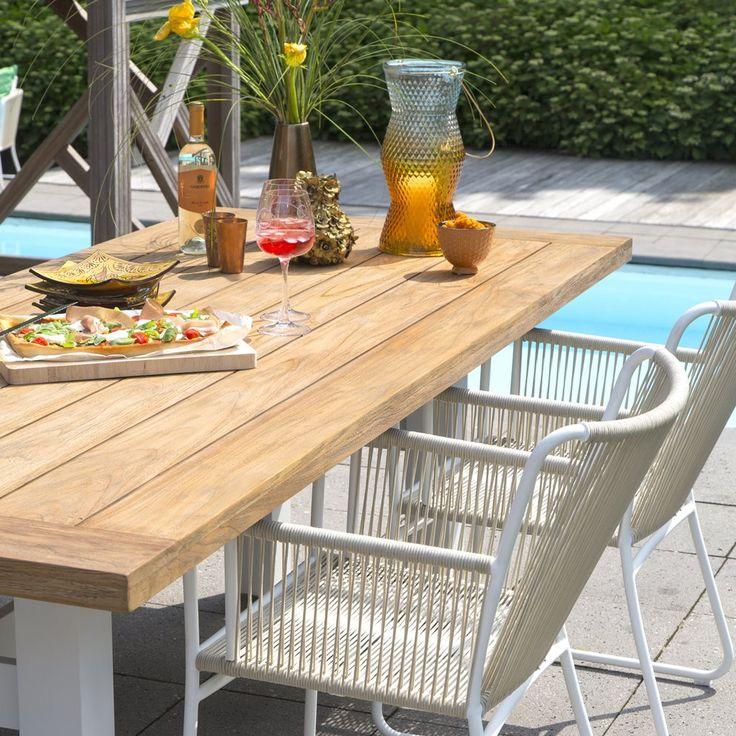 1000 idee n over tafelblad op pinterest tabelinstellingen tafelversiering en couverts - Bank terras hout ...