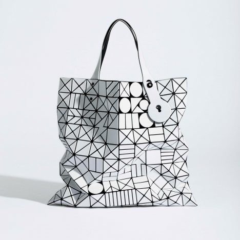 Chord by Issey Miyake, pvc panels mounted on fabric mesh underlayer