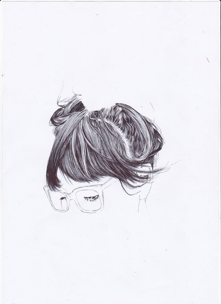 with pen 2 hair_iseng2