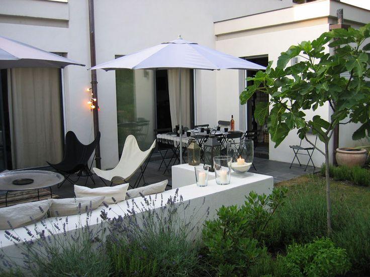 fabulous contemporary patio/terrace