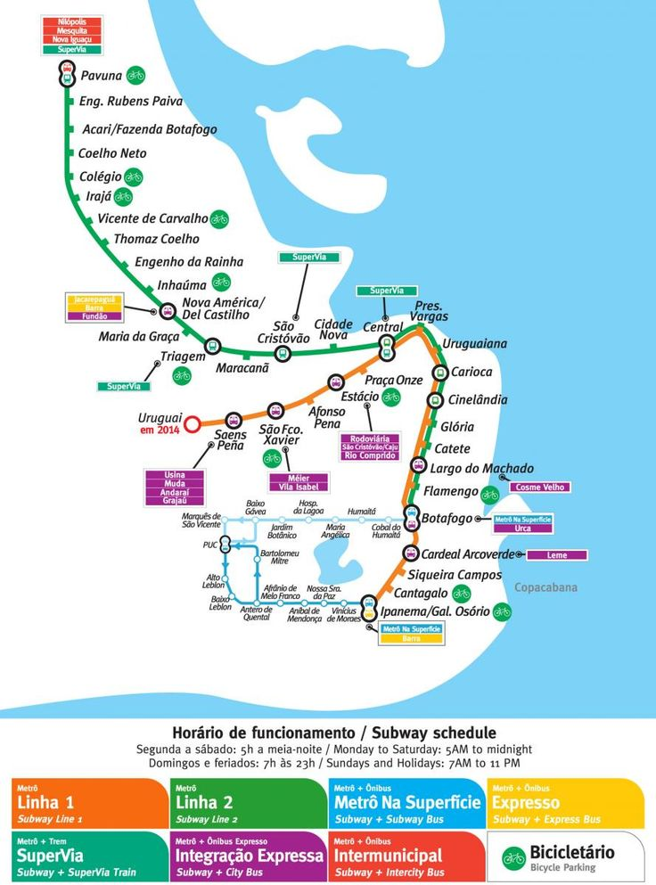 Navigate Rio de Janeiro, Brazil by subway. Information about Metro Rio: routes, tickets, tips and stations at RIO.com. Book cheap hotels near Metro Rio.