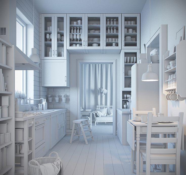 11 besten IKEA kitchen study Bilder auf Pinterest | Ikea küche ...