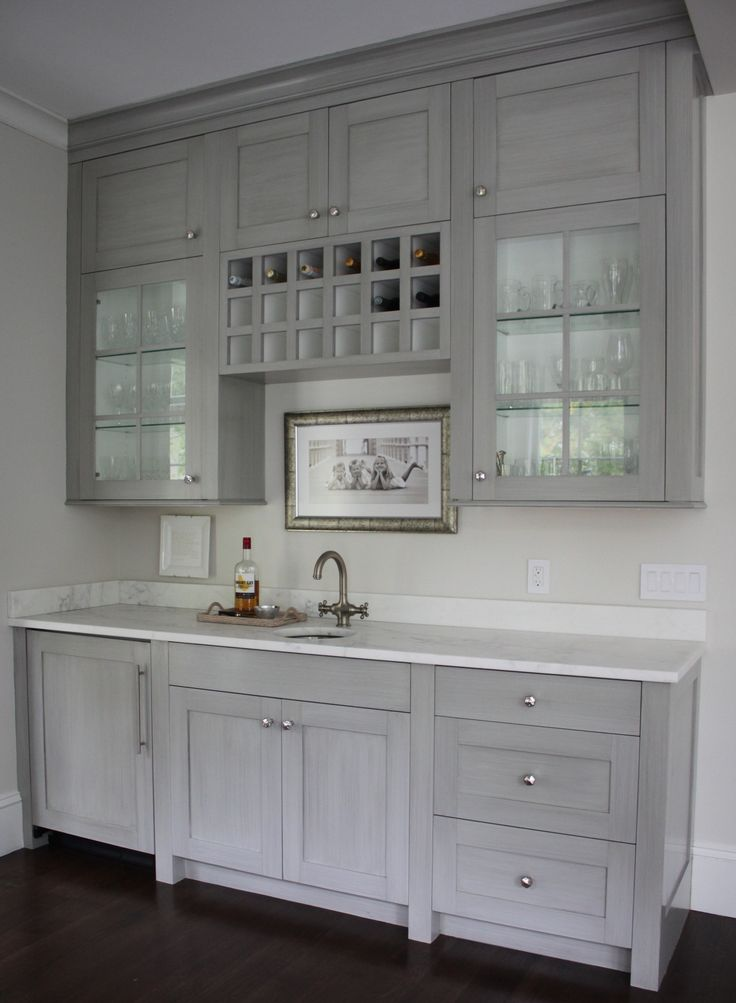 Bar Area Butlers Pantry Gray Palmetto Road Renovation In