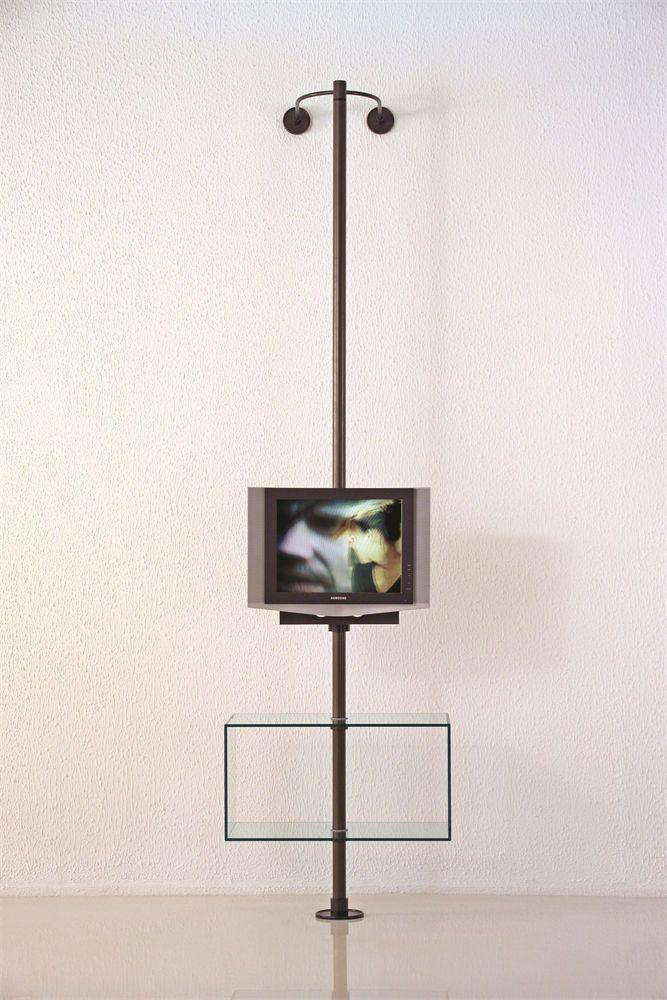 Porta Tv Da Soffitto.Supporto Tv Da Terra Migliori Staffe E Supporti Tv