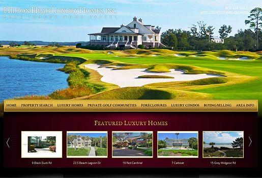Website Real Estate Desain Terbaik - Hilton Head Luxury Homes, Inc - Hilton Head, SC