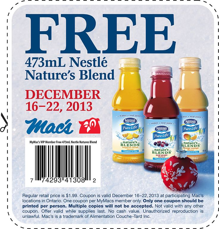 Free Nestle Nature's Blend printable coupon