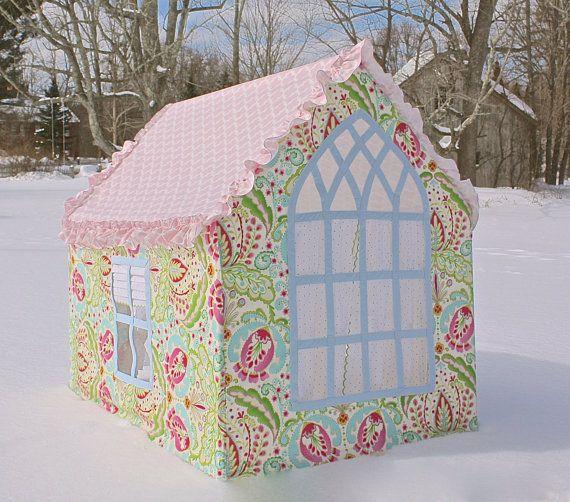 THE SOPHIE custom playhouse with designer fabrics by careytrudeau