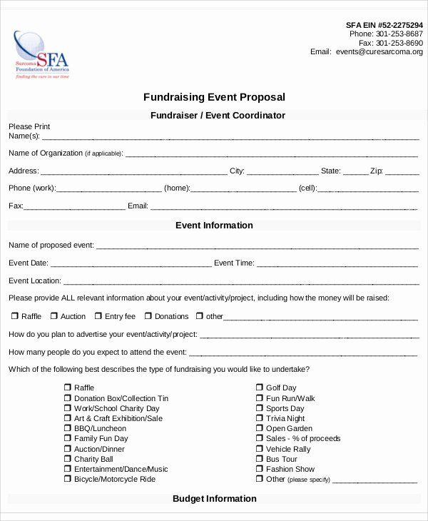 Fundraising Plan Template Free Unique 8 Fundraising Event Proposal Templates Word Pdf Pages Event Proposal Event Proposal Template Event Planning Quotes