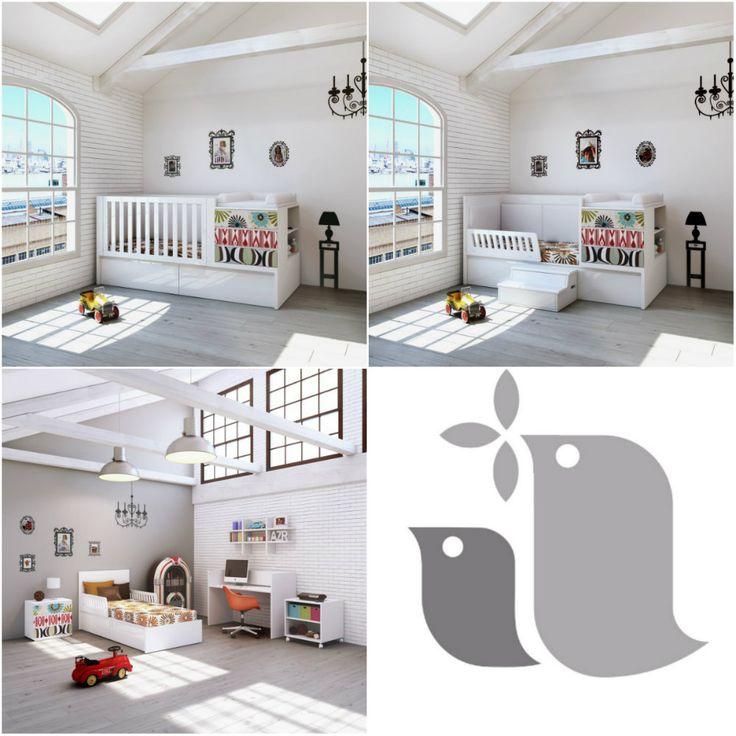 les 8 meilleures images du tableau les lits evolutifs sur pinterest. Black Bedroom Furniture Sets. Home Design Ideas