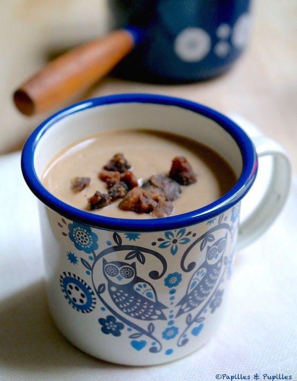 Recette Velouté de châtaignes / recipe chestnut soup