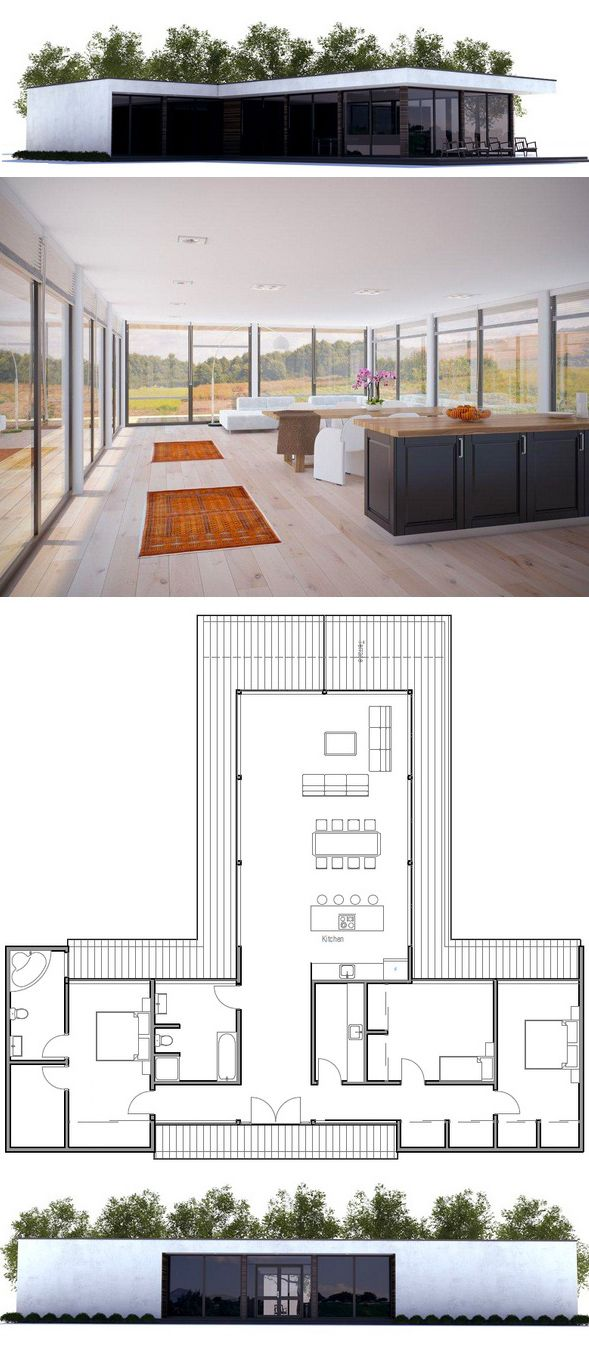 1000+ images about Houses on Pinterest Modern house plans, House ... size: 589 x 1356 post ID: 5 File size: 0 B