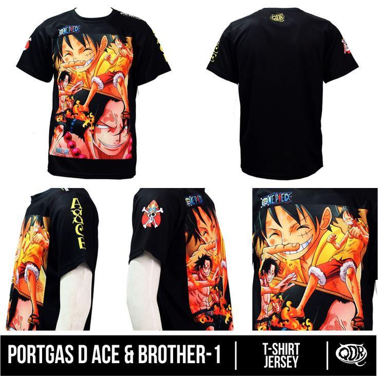 Buy This Product: https://www.bukalapak.com/p/fashion-pria/kaos-165/z9bsx-jual-kaos-one-piece-portgasd-ace-brother-1 or https://www.tokopedia.com/qitadesign/jersey-one-piece-portgas-d-ace-brother-1