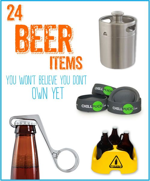 24 Beer Items You Won't Believe You Don't Own Yet - Kegerators.com