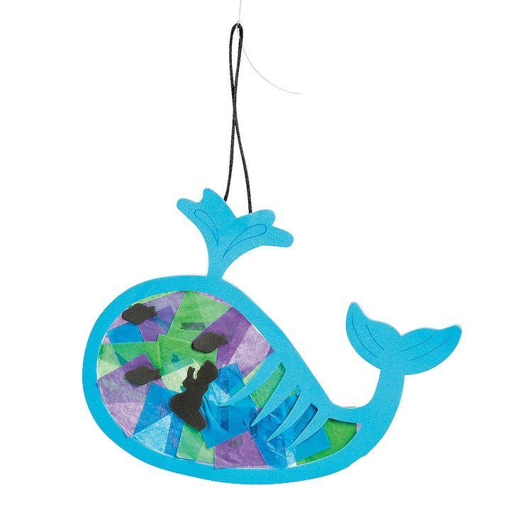 Tissue+Paper+Jonah+&+the+Whale+Ornament+Craft+Kit+-+OrientalTrading.com
