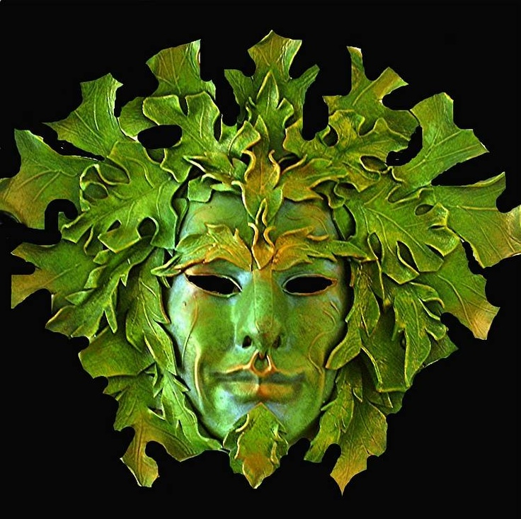Druids Trees:  #Green #Man.