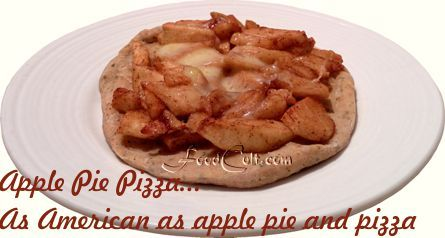 #applepiepizza ... The #pizzapie that's an #applepie. Make your #apple #pie #pizza with #maplesyrup for that unique, #sweet taste of #quebec, #canada and #vermont, #usa. FoodCult.com - Galganov's #recipes and more - #food matters!