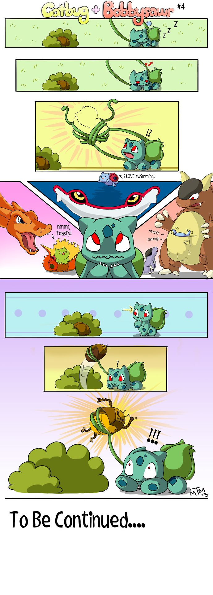 Catbug And Bulbasaur 4