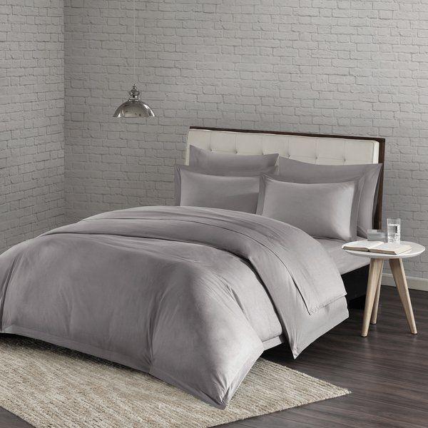 Best Laurel Foundry Modern Farmhouse Mora Duvet Cover Set Bed 400 x 300