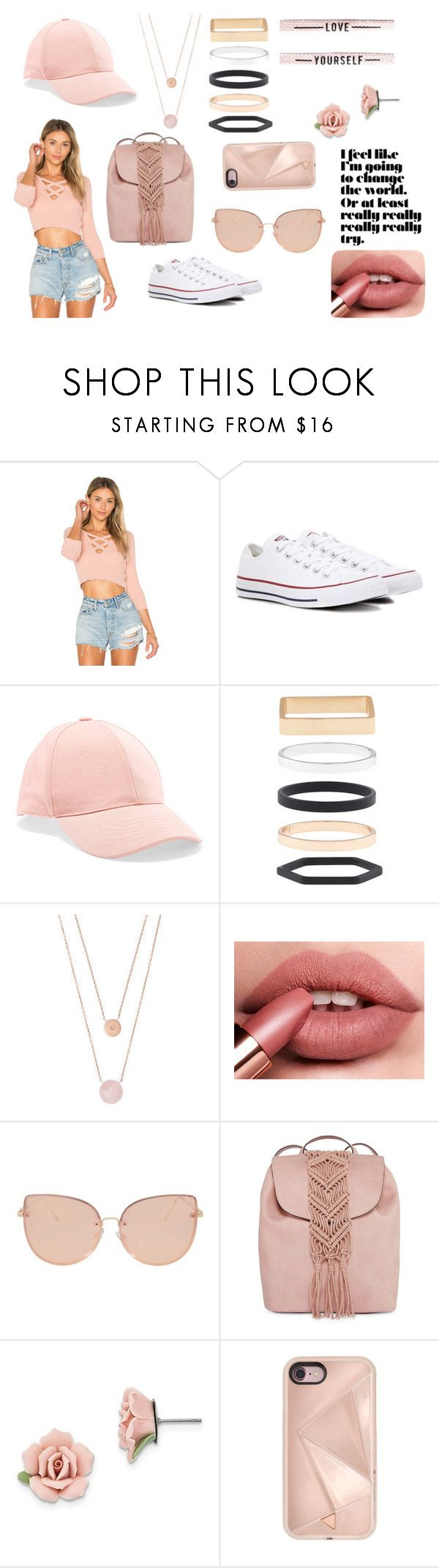 """""""Unstoppable"""" by rahi445 on Polyvore featuring ále by Alessandra, Converse, Acne Studios, Accessorize, Michael Kors, Topshop, T-shirt & Jeans, 1928 and Rebecca Minkoff"""