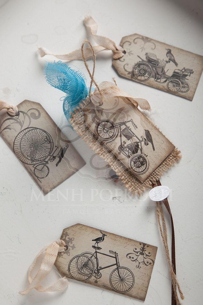 Μπομπονιέρες βάπτισης για αγόρι μαγνητάκια σε vintage ύφος