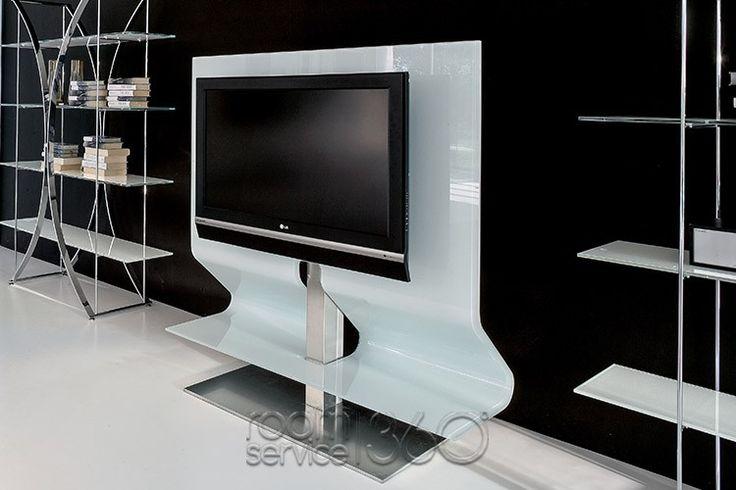 Odeon Modern Swivel TV Stand by Tonin Casa