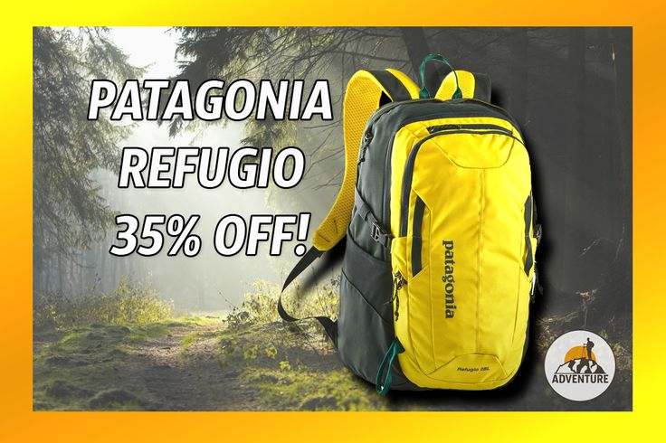 The Patagonia Refugio Backpack On Sale Now 35% Off!
