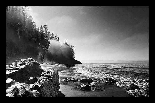 Mystic Beach, Vancouver Island
