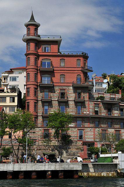 Ottoman Mansions on the Bosphorus. Borusan Building