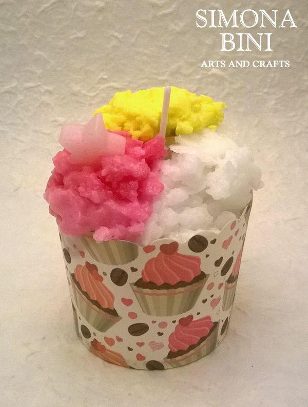 Candela bicchierino gelato