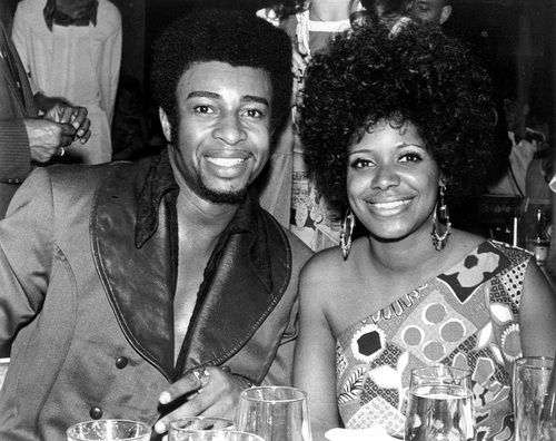 Dennis Edwards of The Temptations and Carla Thomas