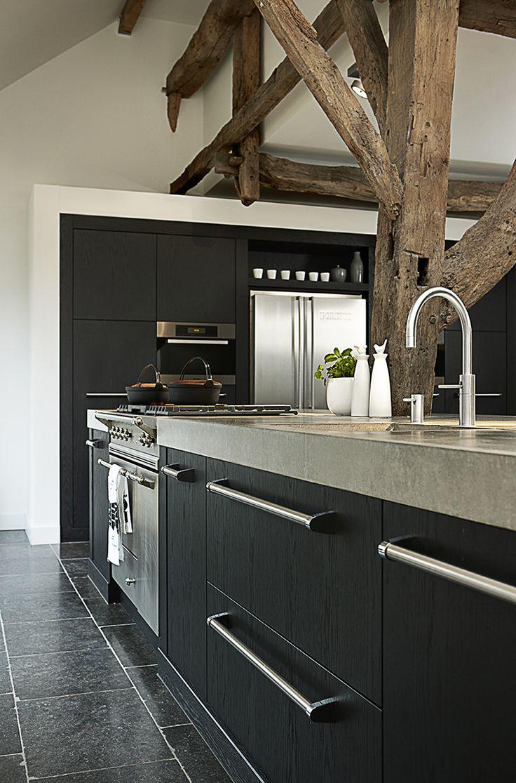 Meer dan 1000 ideeën over modern landelijke keukens op pinterest ...