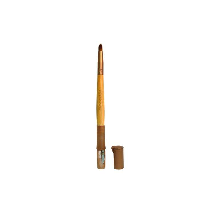 Pincel Duo com Apontador de Lápis ECOTOOLS - Beleza Orgânica