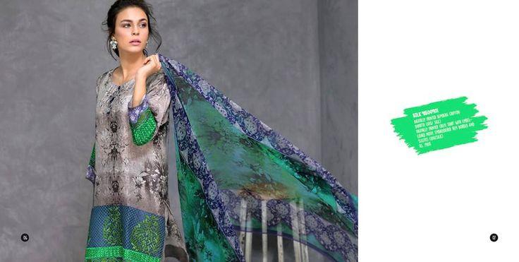 Nisha Unstitched Sawan Range 2016 Catalog Eid Dresses
